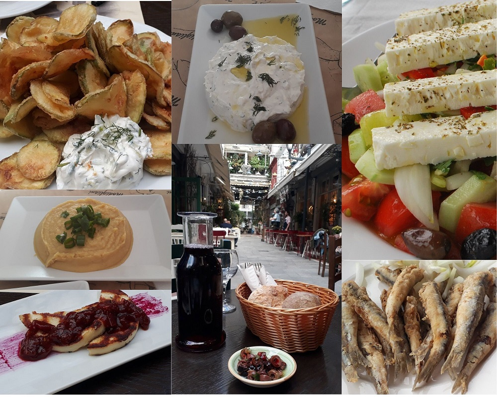Mezze are an important part of the food scene in Thessaloniki