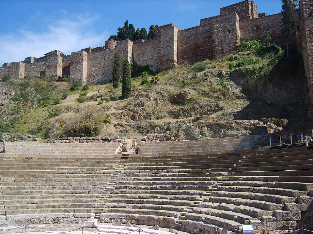 The Roman Theater in Malaga