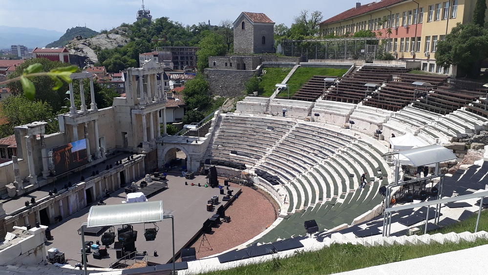 The Roman Theater in Plovdiv is still used for live performances.