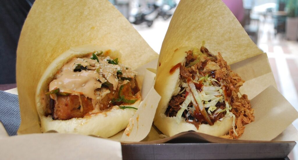 Thess Bao is a great Asian street food option in Thessaloniki