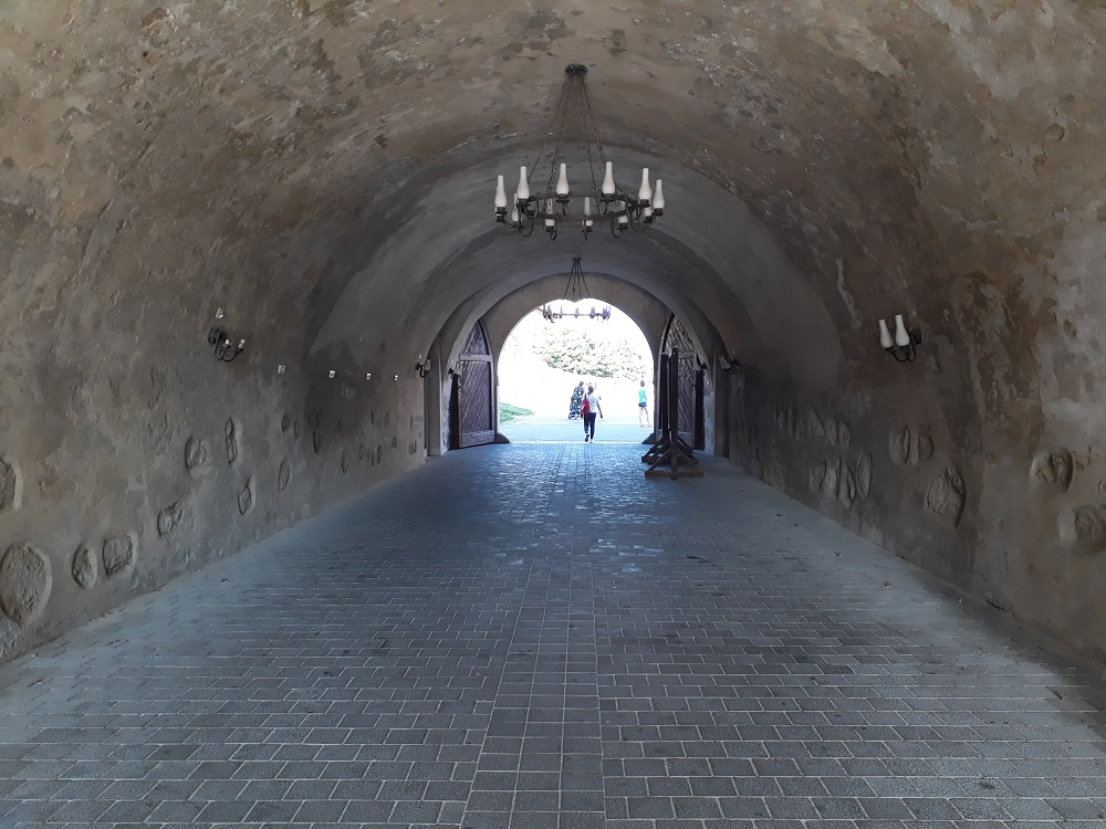 Tunnel behind the Third Gate of Alba Carolina Citadel.