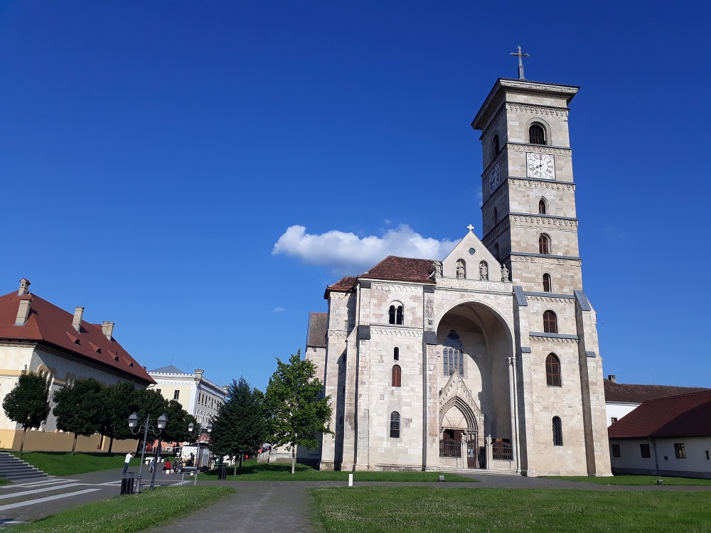 The Catholic Cathedral in Alba Iulia Citadel.