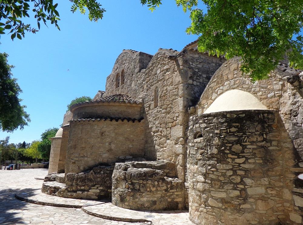Angeloktisti Church close to Larnaca, Cyprus