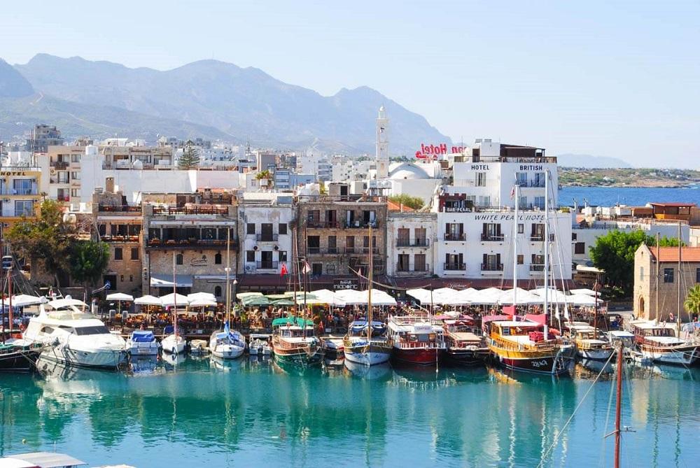 Kyrenia (Girne) in Northern Cyprus