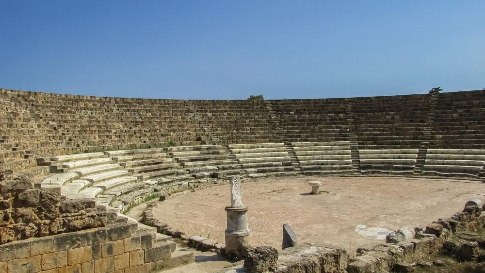 The Roman Theater in Salamis