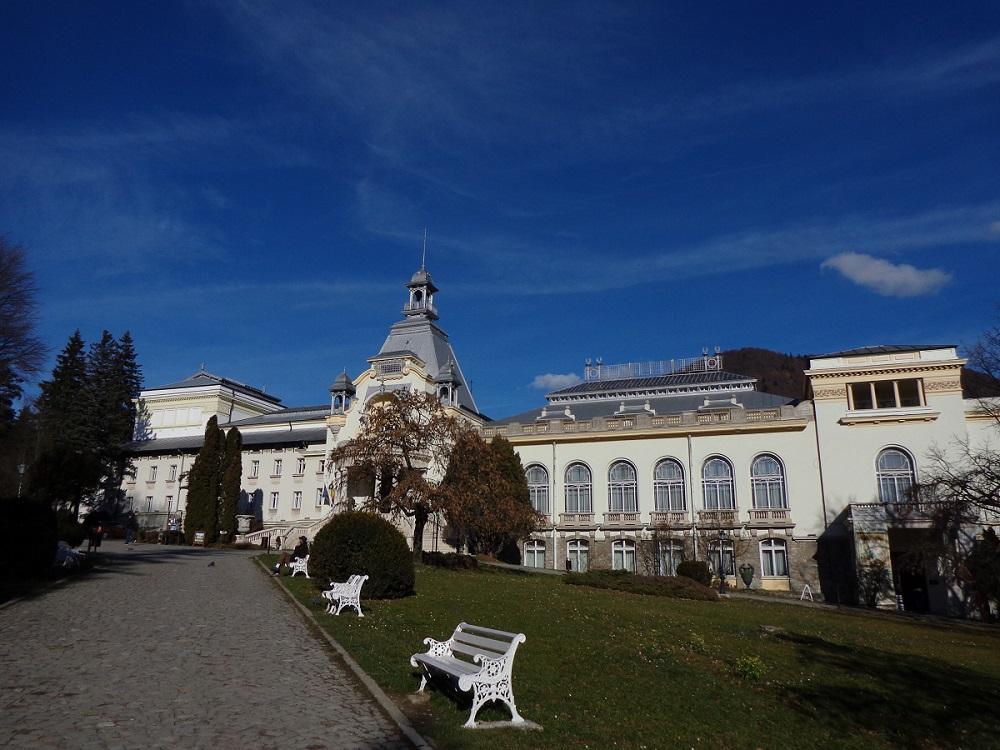 The casino in Sinaia