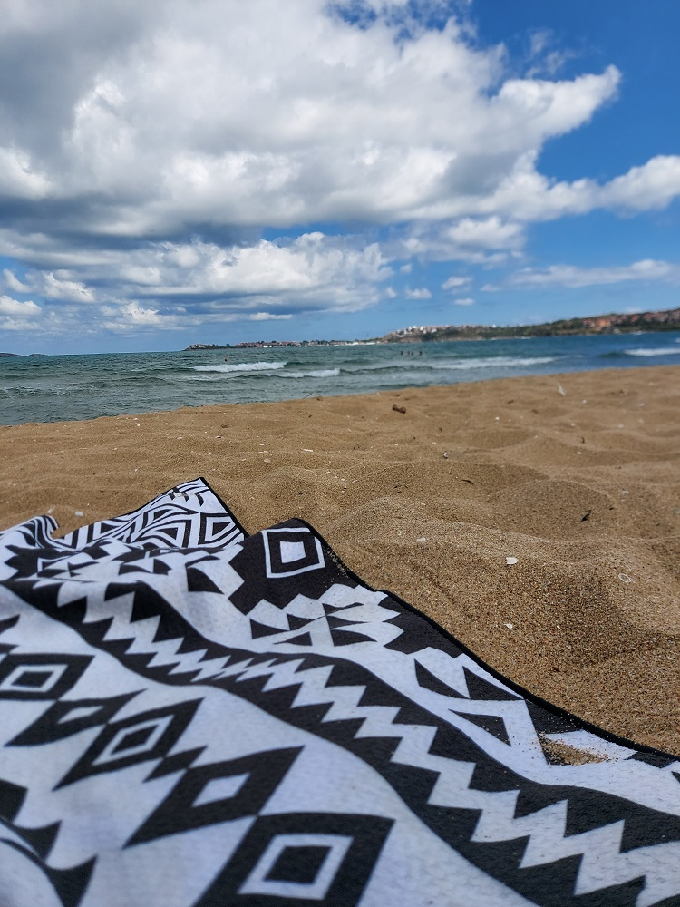 The beach towel is one of the essentials for any beach trip.