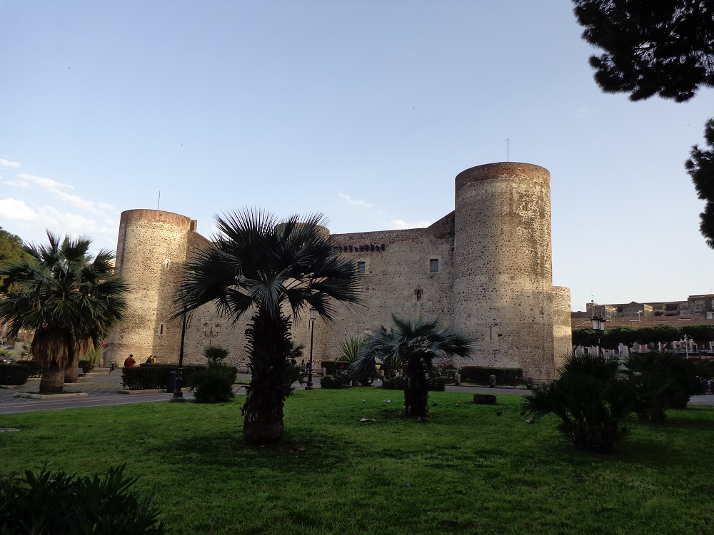 Ursino Castle is on every list of things to do in Catania.