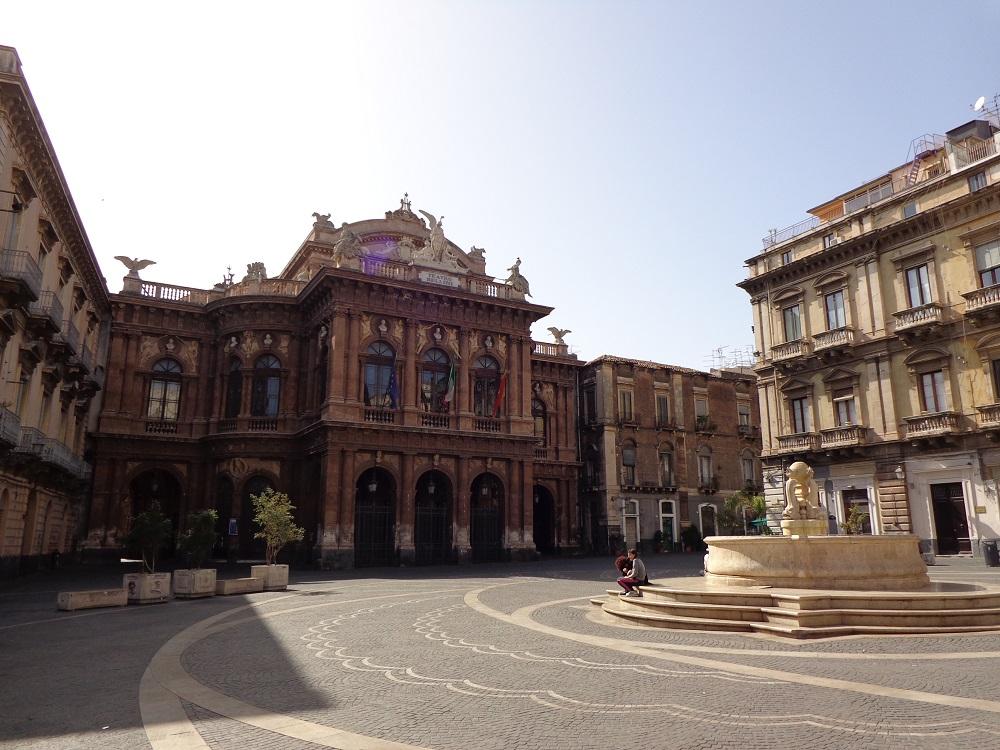 Teatro Bellini, one of the symbols of Catania.
