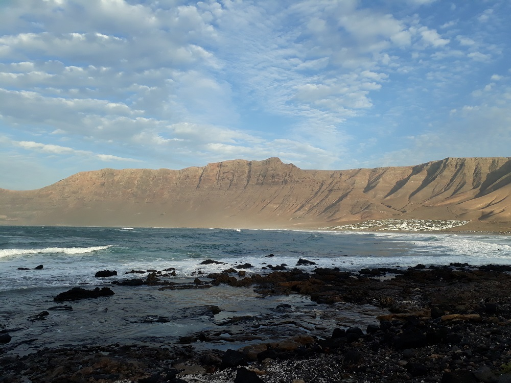 Famara Beach is the most beautiful beach in Lanzarote and one of the top attractions of the island.