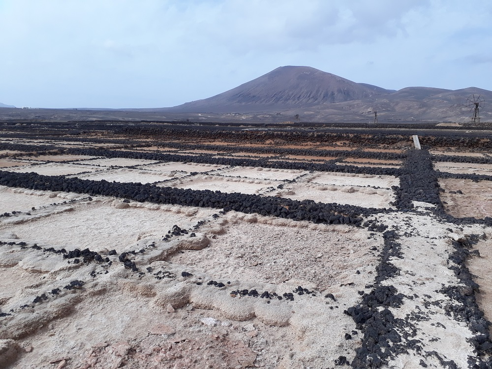 Las Salinas have some incredible views and are some off the beaten path things to do in Lanzarote.