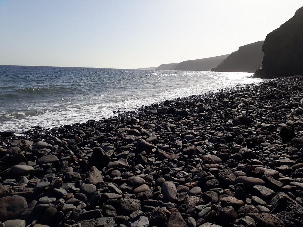 Playa Quemada is one of the best places to visit in Lanzarote.