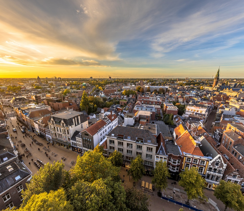 Groningen, the University city in northern Netherlands.