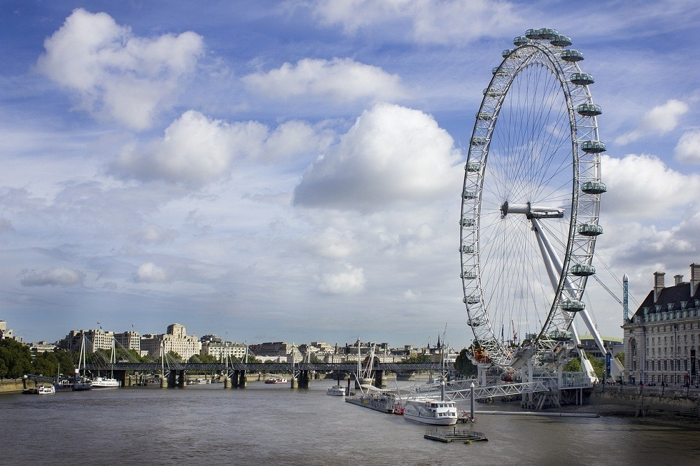 The London Eye, one of the most recognizable images in London