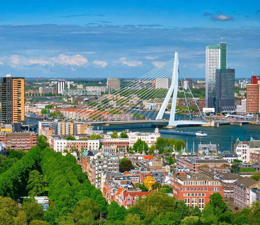 Rotterdam is one of the largest port cities in the world and one of the best places to visit in the Netherlands.