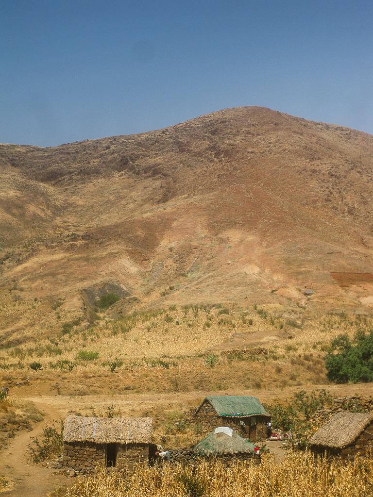 Rural Cape Verdean Village