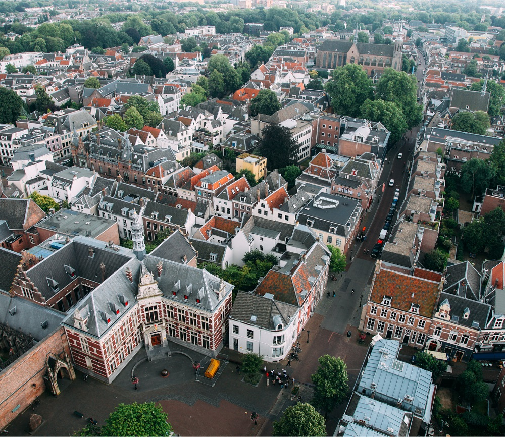 Utrecht is one of the medieval cities of the Netherlands.