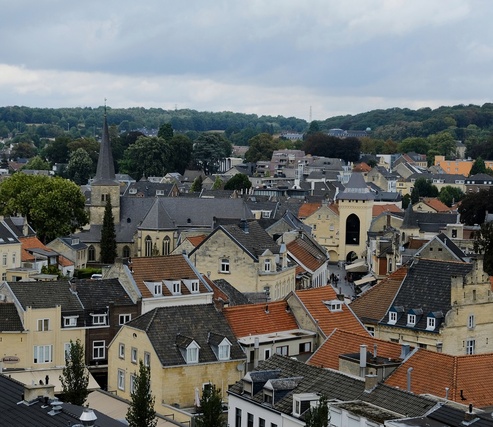 Valkenburg is one of the few cities you can visit in the Netherlands and climb on a hill.