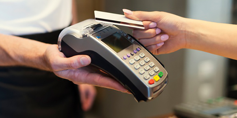 Paying with an international credit card or with a debit card is a question answered in the car rental manual.