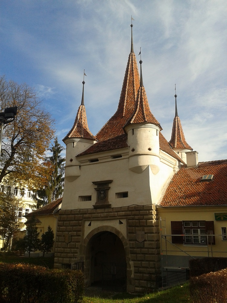 Catherine's Gate is one of the most beautiful places to visit in Brasov.