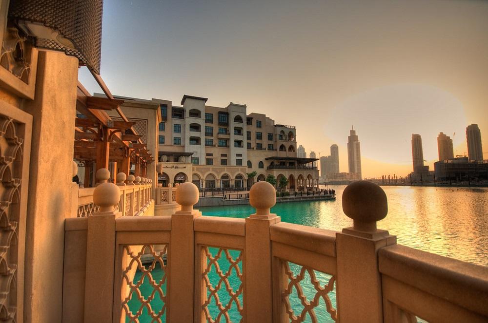 Enjoy the coolness of the huge Dubai Mall.
