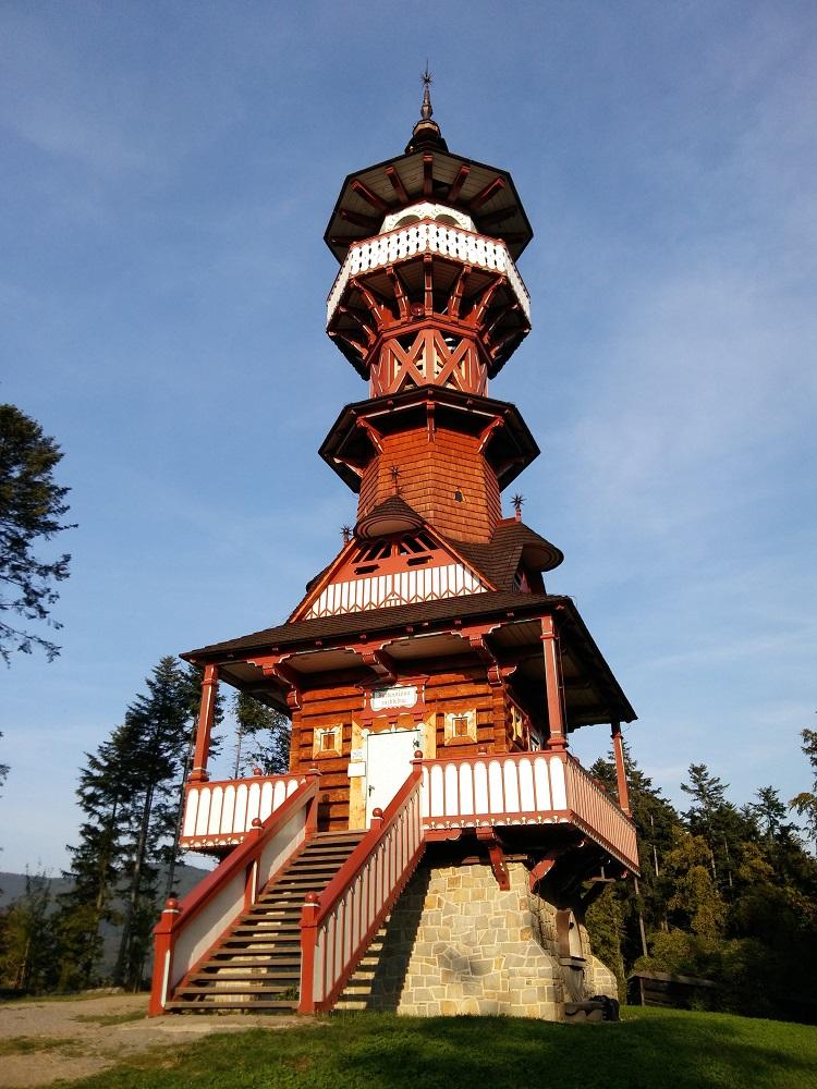The Jurkovičova Tower in Roznov pod Radhostem