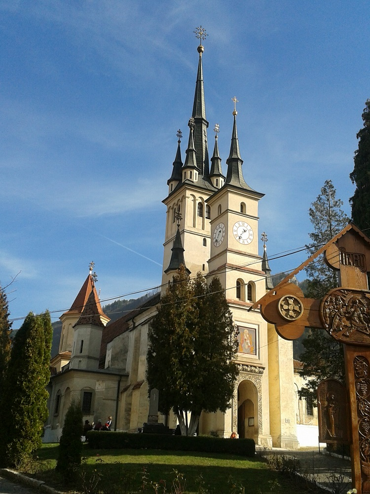 St. Nicholas Church is one of the most beautiful churches in Brasov.
