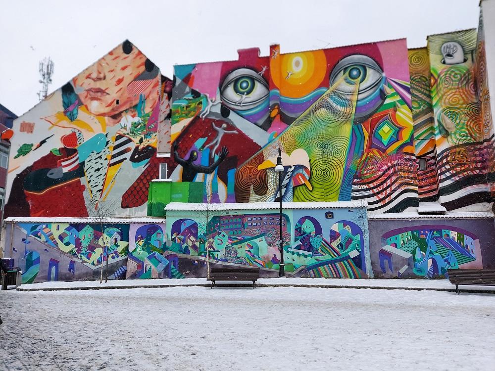 Street Art in Brasov