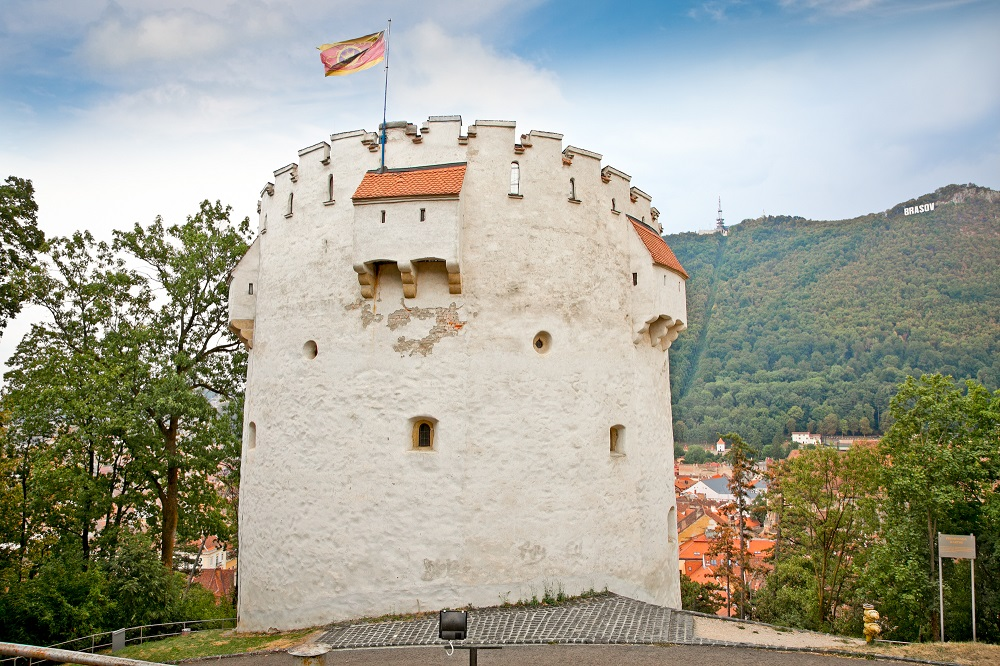 The White Tower a good place for some panoramic views of Brasov.