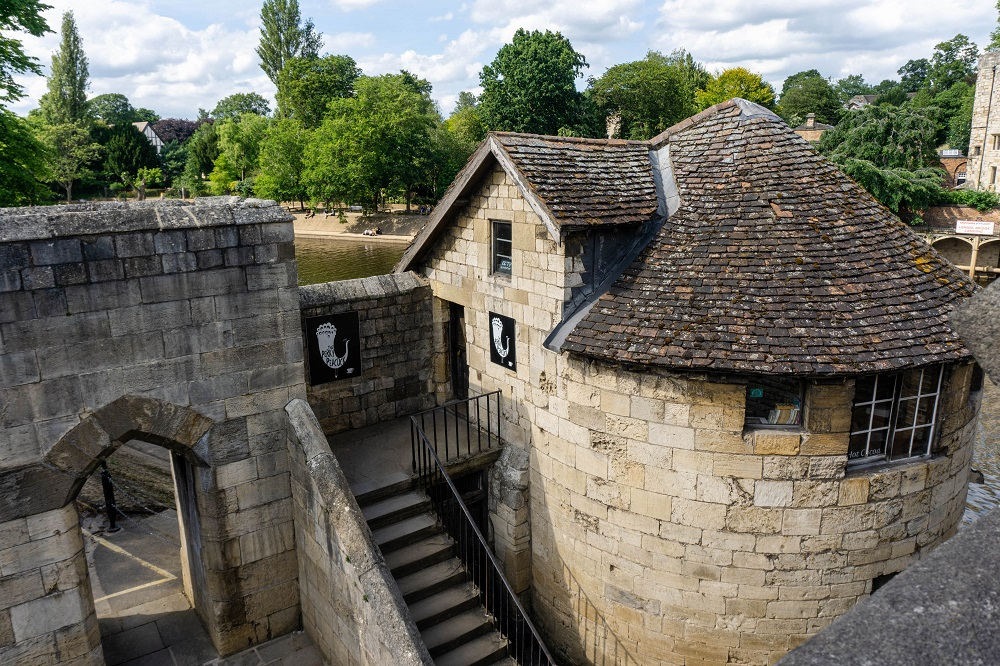 Walking around the city walls is one of the top attractions in York UK.