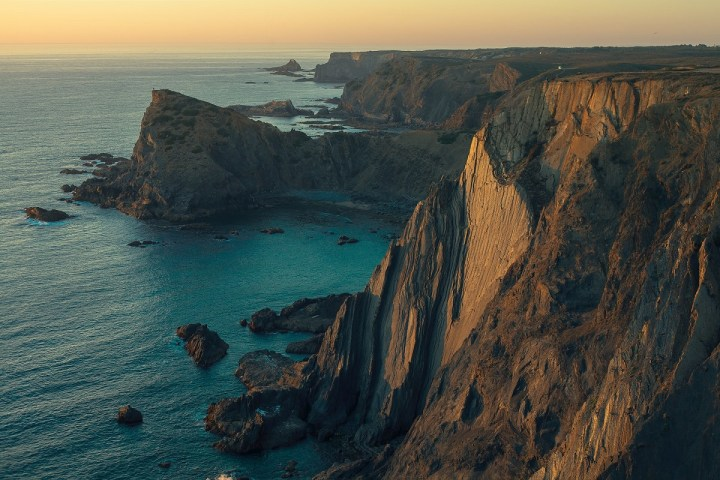 The best hiking trails in Portugal are the ones on the scenic coastline.