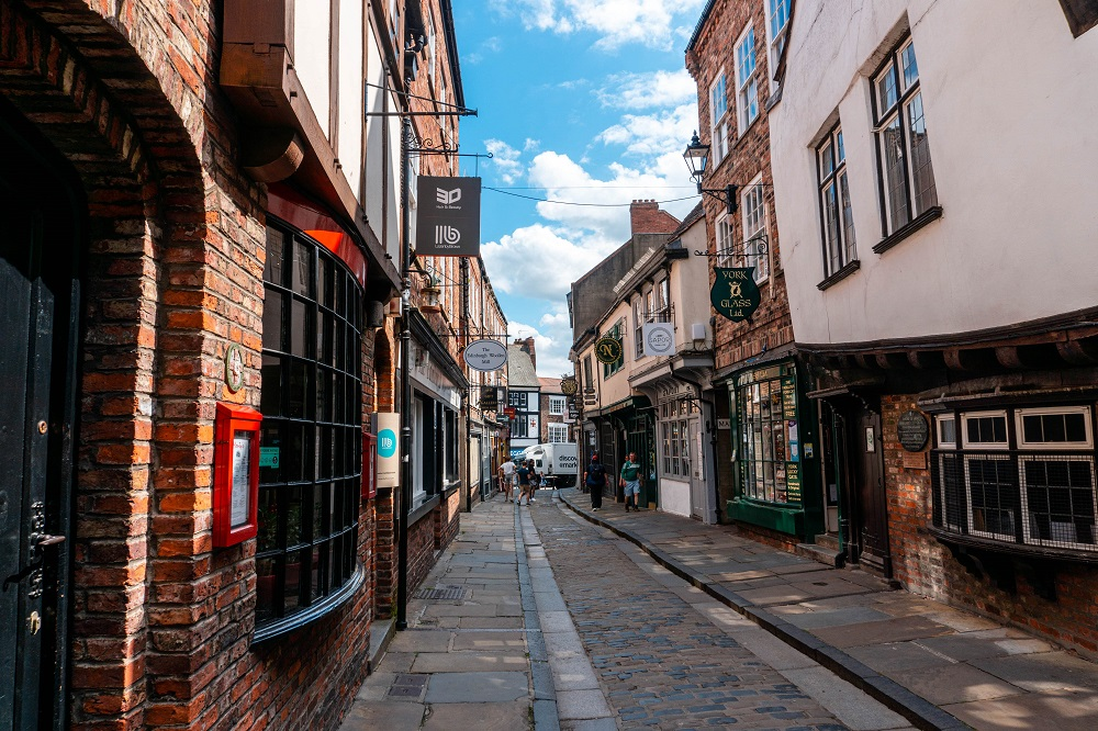 Shambles is my favorite part of York UK