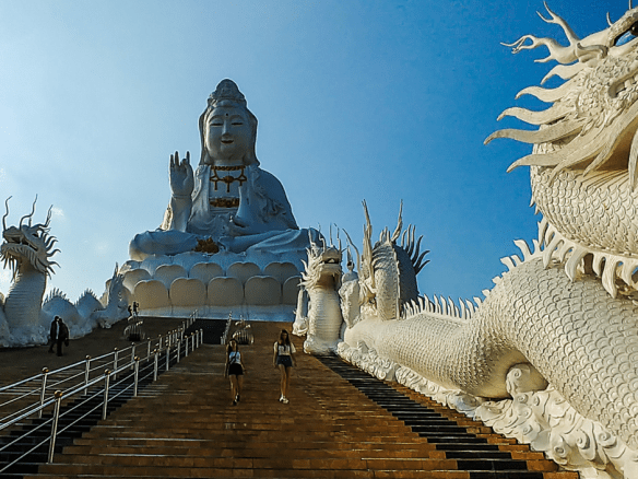 The Colours of Chiang Rai – Black, White and Blue