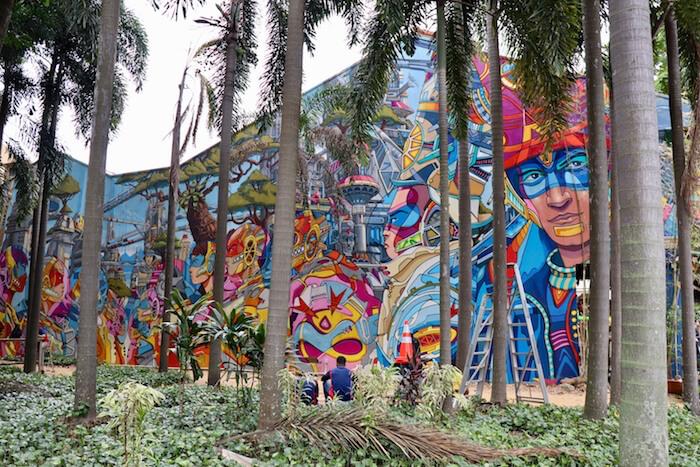 Best Street Art In Singapore Little India Chinatown Haji