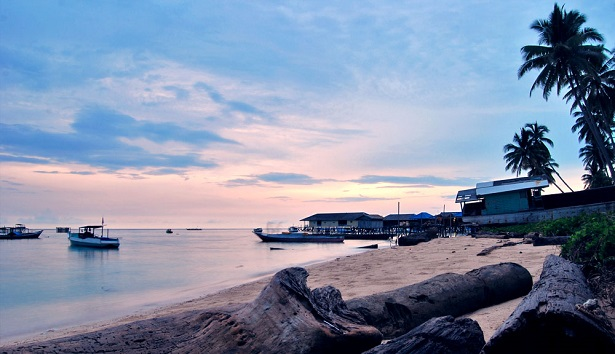 top places in borneo
