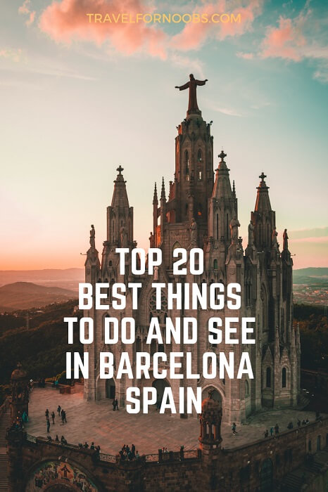 things to see and do in barcelona