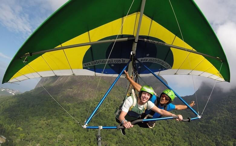 hang gliding rio de janeiro brazil