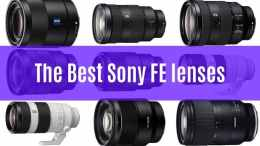 best fe lenses for sony full frame mirrorless