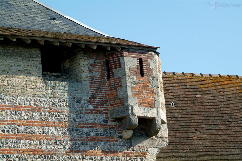 Gun/Bow & Arrow turret of Dieppe castle