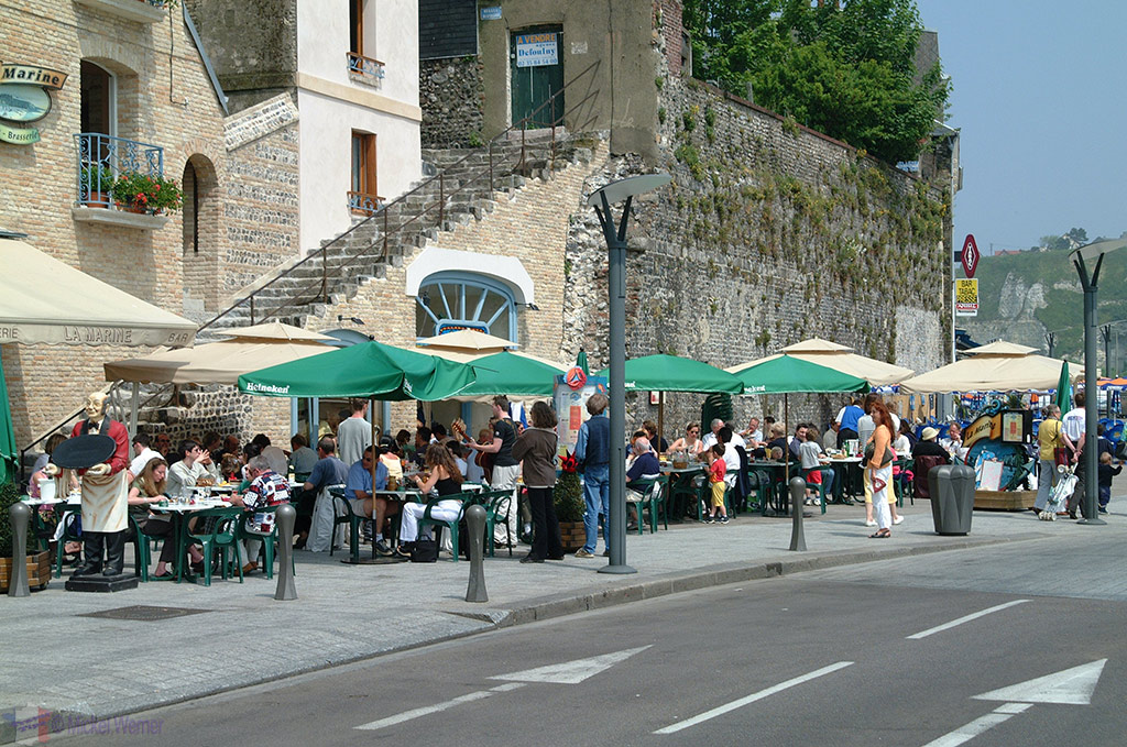 Harbour restaurants in Dieppe