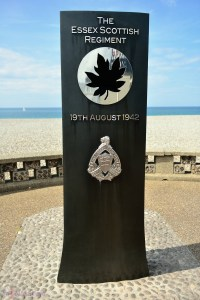 Canada WWII Memorial in Dieppe