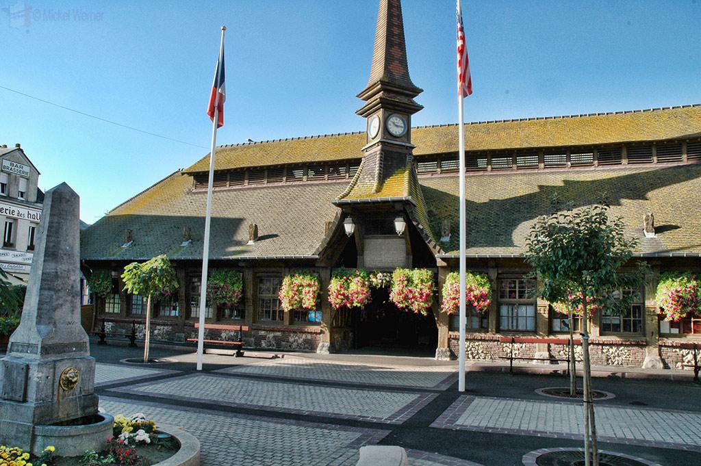 Etretat's Les Halles market building