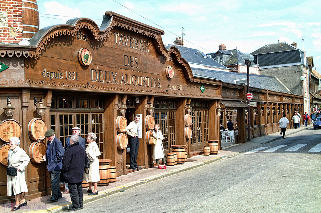 Old tavern in Etretat