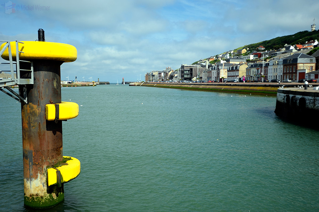 Main bridge/road into Fecamp