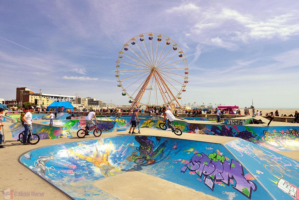 Le Havre beach skatepark