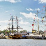 Rouen - Events - The Armada of Tall Sail Ships