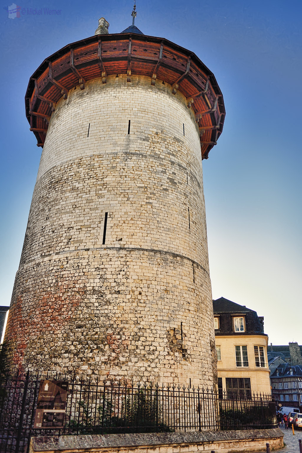"Joan of Arc's dungeon, the now named ""Joan of Arc Tower"" in Rouen"