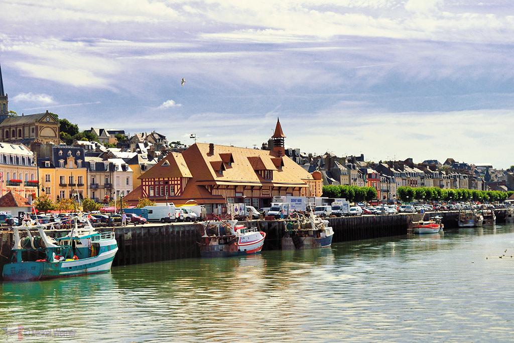 Fish market of Trouville-sur-Mer