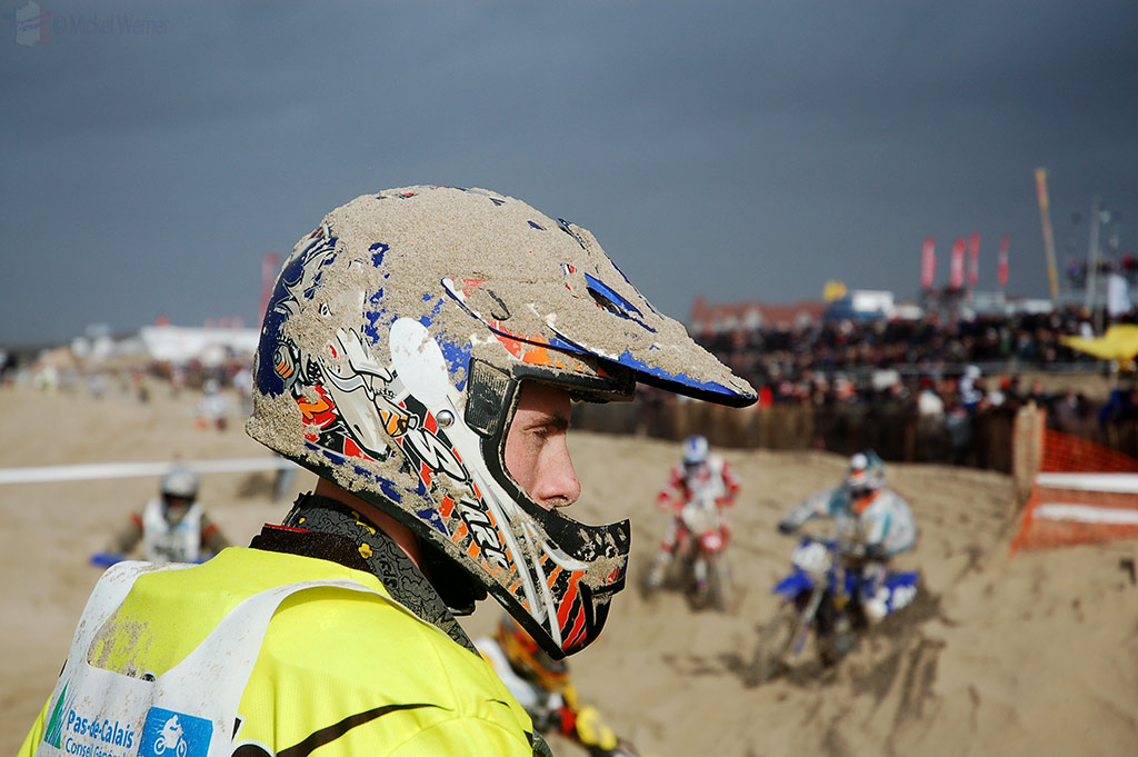 Taking a breather at Le Touquet Enduropale
