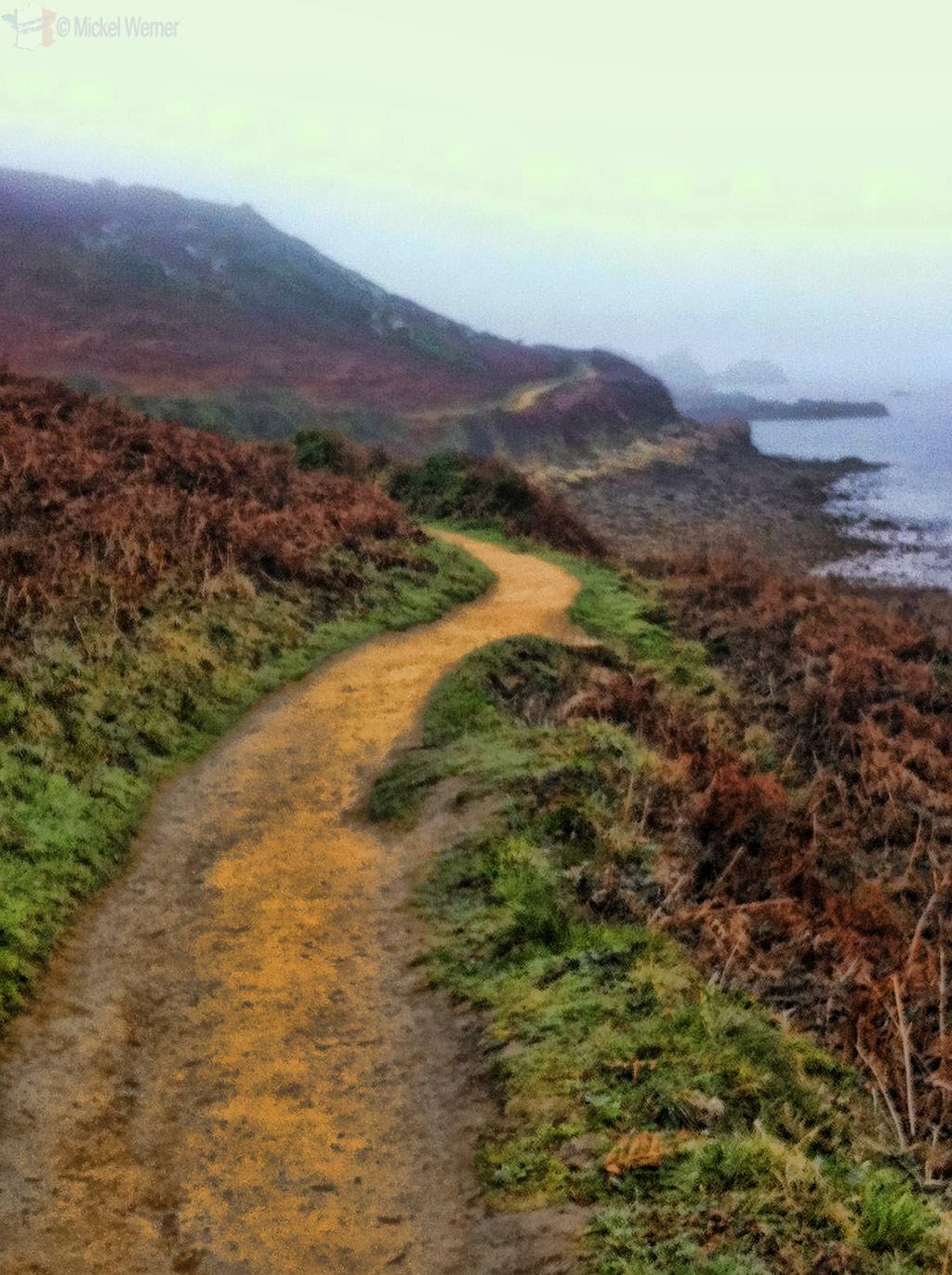 Coastal hiking path of Perros-Guirec